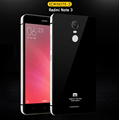 For Xiaomi Redmi Note 3 Pro Case Luxury Aluminum Frame Tempered Glass Back Battery Cover Replacement