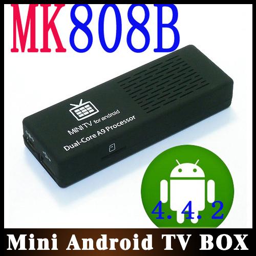 10pcs/lot Holiday Sale MK808 Bluetooth Android Mini PC TV Box Dual Core Rockchip RK3066 1G RAM 8GB HDMI Dongle Free Shipping(China (Mainland))