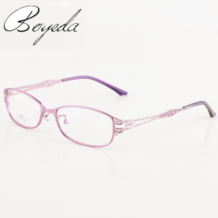 New Woman Metal Spectacle Optics Eyeglasses Frames Women Fashion Glasses Myopia Optical Eye Glasses Frame Oculos de Grau Glasses