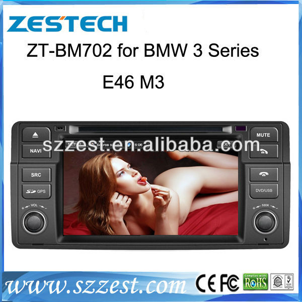 7''Car DVD for BMW E46 1998-2005 with Canbus Built-in GPS Navigation/ iPod / Bluetooth / Steering Wheel Control / Analog TV(China (Mainland))