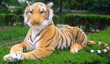 Free shipping The simulation tiger toy plush soft toy 130cm size big size(China (Mainland))