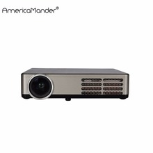 Electric Keystone Business Teaching 3D Android 4.4 DLP WIFI Wireless Projector 1280*800 Home Theater Mini Portable Projector(China (Mainland))