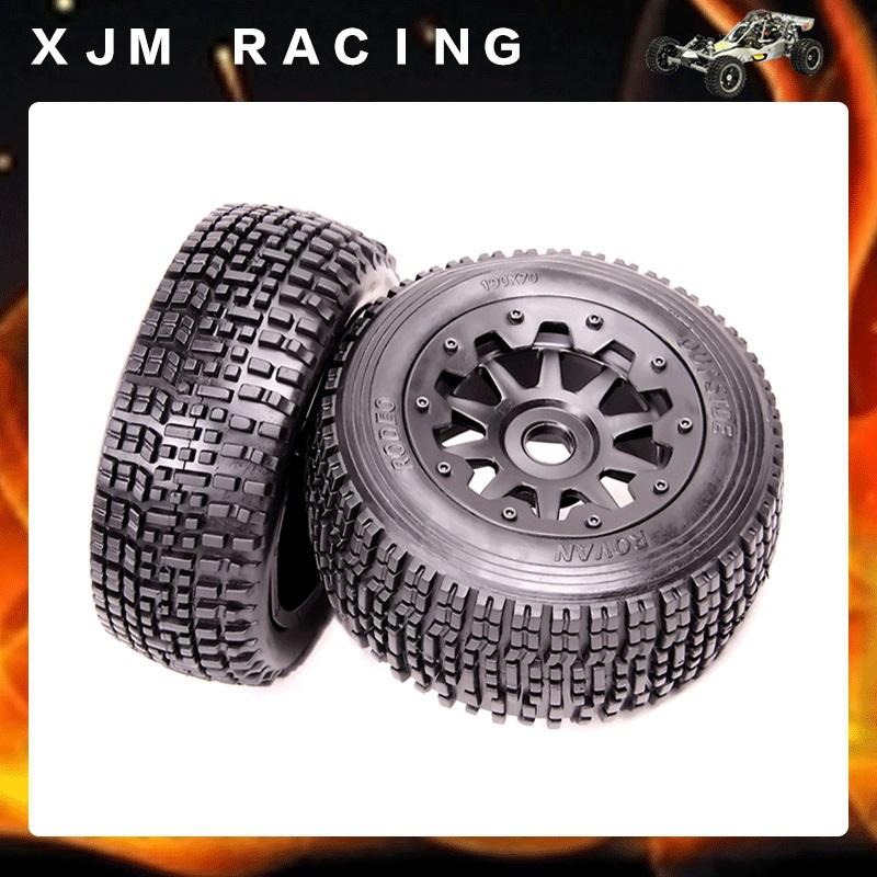 Rovan Baja 5SC Rear Wheel Tyre X 2pcs assembly free shipping