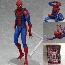 Free Shipping Toys SupermanSpider man, the thor, American captain joint movable toy,PVC Action Figure Model Toy/dolls for girl