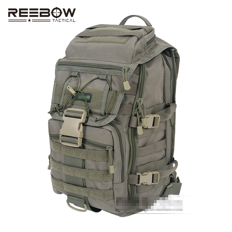 X7 ARMY GREEN Tactical Laptop Backpacks Military Camouflage Outdoor Travel Hiking Camping Bag Sports Computer Bags 1000D Nylon - REEBOW GEAR store