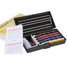 Knife sharpener,Lansky Deluxe 5-Stone Sharpening System, 5 Stone Sharpening System, Extra Coarse,Knife Sharpener Kit(China (Mainland))