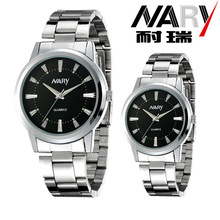 Nary Men And Woman Leisure Sports Waterproof Quartz Watch Rhinestone Swiss Alloy Couples Luxury Brand Montre