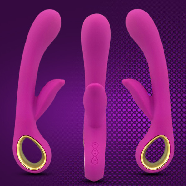 AV massager recharging double vibration vibrator silicone woman sex toy sex products sex shop(China (Mainland))