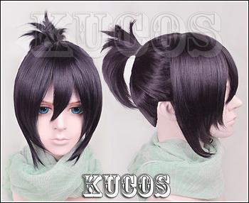 Noragami Yato Ponytail Purple Hair Cosplay Wig Free Shipping