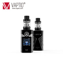 E Cigarette Vape kit CAPTAIN 220w box mod powerful output Fitted TFV8 Baby Tank 2.0ml atomizer support 2*18650 battery vaporizer(China)