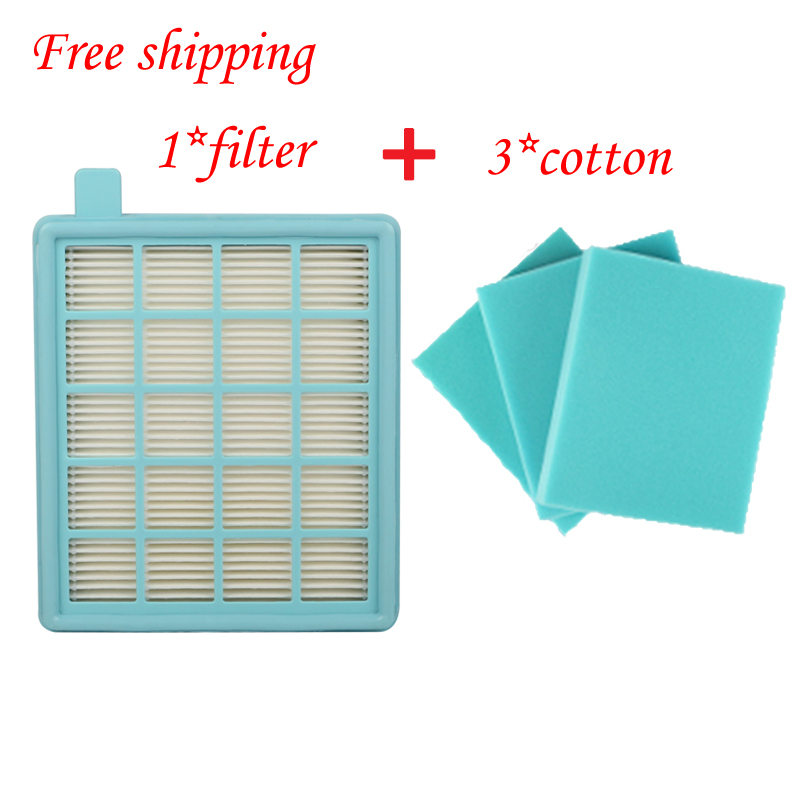 4pcs/lotFilter Mesh HEPA FILTER BUFFALO-MISTRAL For Philips Vacuum Cleaner FC8470 FC8471 FC8472 FC8473 FC8474 FC8476 FC8477(China (Mainland))