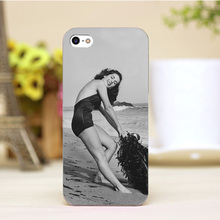 pz0006-2-4-8 Elizabeth Taylor Design cellphone cases For iphone 4 5 5c 5s 6 6plus Shell Hard Lucency Skin Shell Case Cover