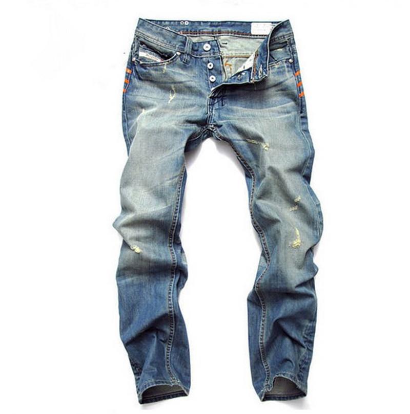 2015 New Arrival Brand Men Jeans,100% Cotton Straight Fit Denim Men Jeans,Retail & Wholesale Mens Pants Hot Sale(China (Mainland))