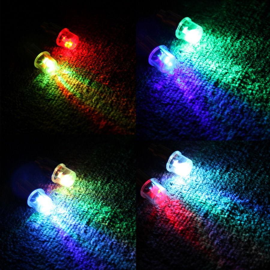 1Pair Universal Motorcycle Bike Bicycle Car Wheel Tire Tyre Valve Cap Neon Lamp LED Light Bulbs Cycling Flashing LED Tyre Light(China (Mainland))