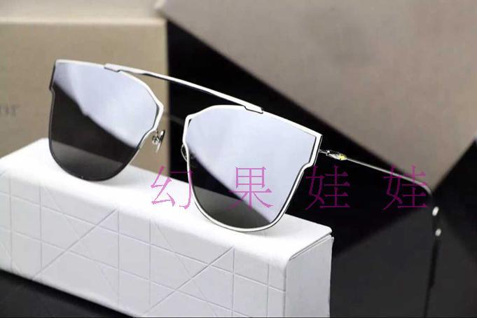 Super light metal cat's eye sunglasses Men 0204s hd glance mercury film women sunglasses(China (Mainland))