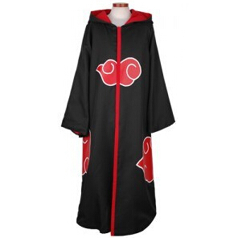 Eagle Team Cosplay Clothing Naruto Costumes Uchiha Sasuke Trench Plus Size ( S-XXL) Adult And Kid Halloween Hooded Free Shipping(China (Mainland))