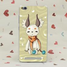 1365CA Fluffy Ears Hard Transparent Case Redmi 2 2A 3s Pro Note 3 Meizu M2 Mini M3 - TTcase Store store