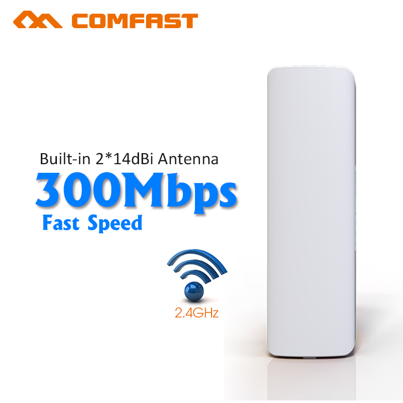 Comfast Wireless outdoor CPE 300mbps WIFI signal booster Amplifier wifi 14dBi Antenna wi fi access point CPEantenna Nanostation(China (Mainland))