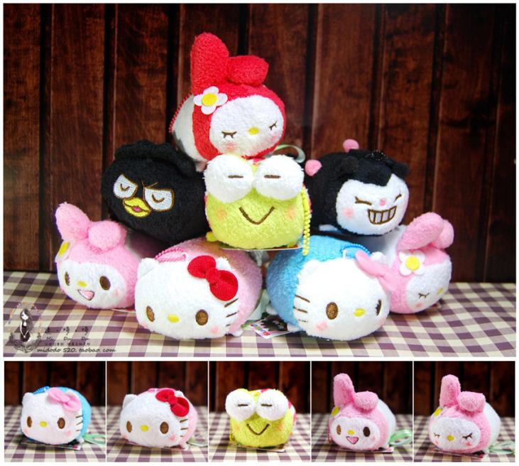 "NEW CUTE LOVELY 3.5"" MELODY Plush Doll Mini Toy TSUM Key Accessories Phone Screen Wipe Mini Plush Doll Baby Toys Best Gift(China (Mainland))"
