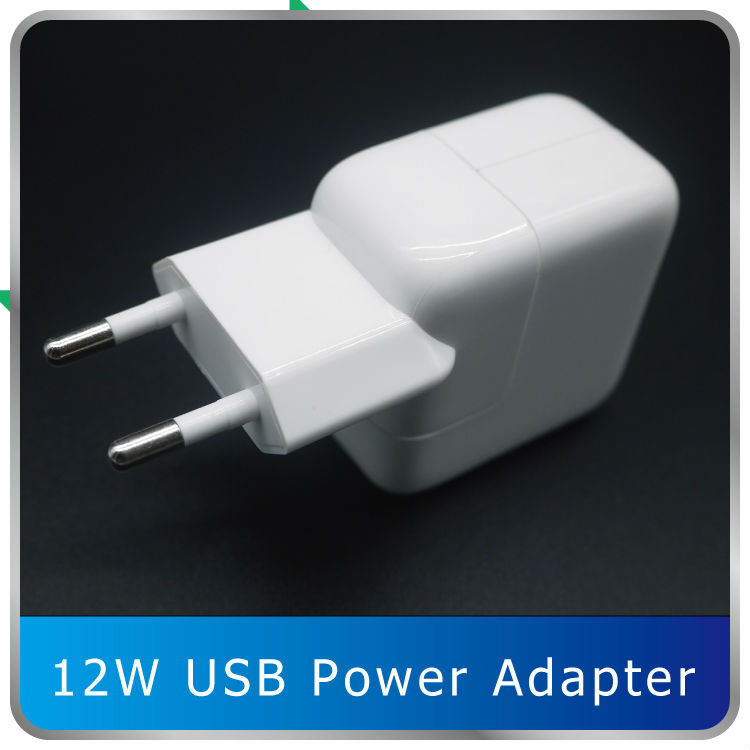 Free DHl Imitation 12W USB Power Adapter Travel Charger for Apple iPhone 4s 5 5s iPad mini Air iPod nano 30 pieces/lot Wholesale