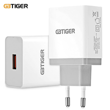 Buy GBTIGER QC 3.0 Quick 3.0A Travel Adapter Phone Charger Wall Charger QC 2.0 Fast charge Smart phone Mobile phone EU/US Plug for $6.99 in AliExpress store