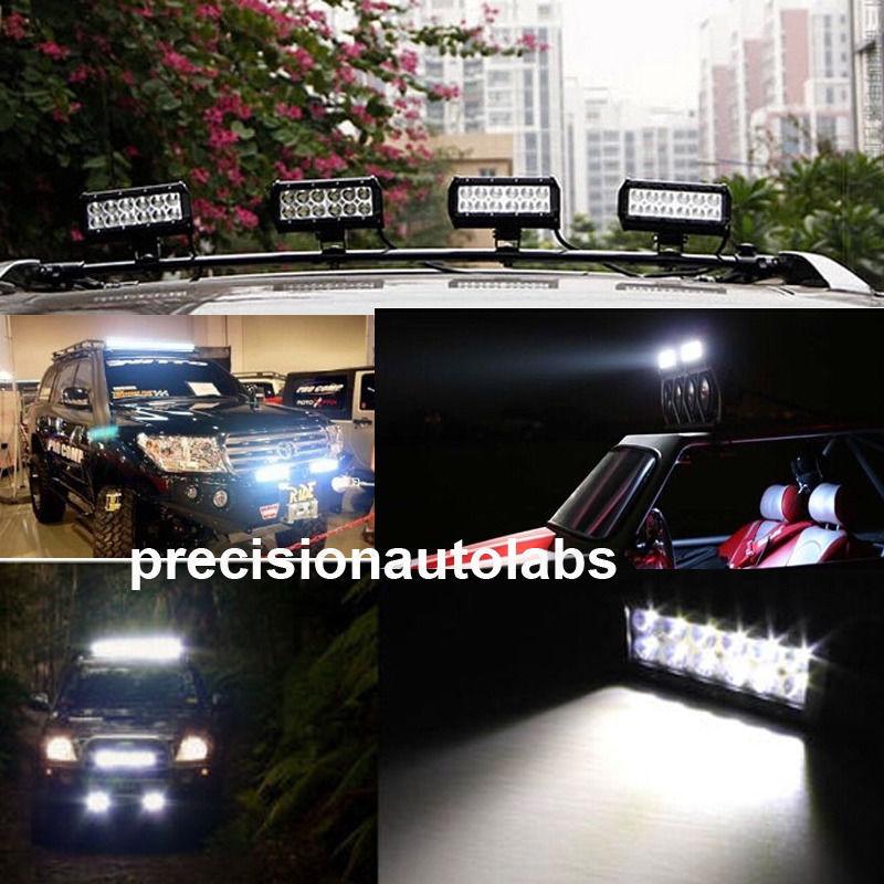 10Pcs 7INCH 36W CREE LED Work Light Bar Spot Offroad SUV Car Driving Lamp