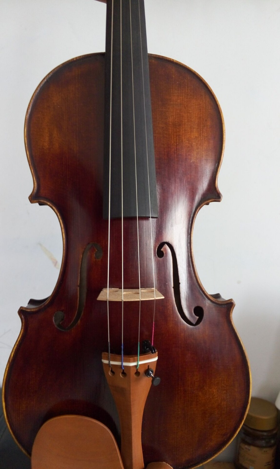 4/4 Guarneri model violin old antique style with very nice sound handcraft 1741 A(China (Mainland))