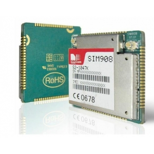 Free Shiping new and orginal 100% 10pcs simcom sim908 GSM GPRS GPS Module(China (Mainland))