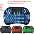 mini i8 backlight key board i8 Backlit air Mouse for M8S Plus T95 S905 S812 Smart