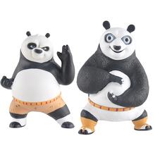 1PCS Cartoon Gongfu Panda Saving Box Toys Funny PVC Chinese Anime Action Figure Panda figure Kids Toys Model doll
