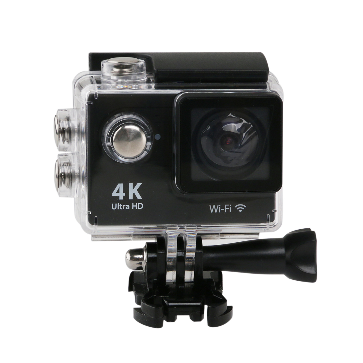 30M Waterproof 2.0-inch 4K Ultra-HD WIFI 170 Degrees Wide Angle Digital Camera DV Camcorder with EU-plug Power Adapter(China (Mainland))
