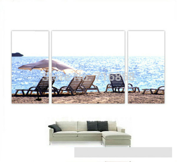 3 pcs beautiful Modern Abstract scenery Oil Painting set on Canvas wood frame home decor op-033