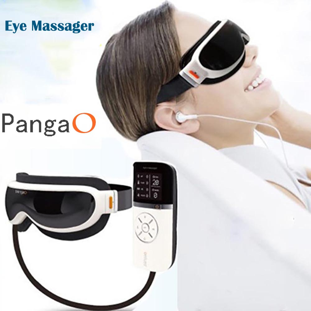 Pangao Air pressure Eye Massager Vibration And Heating Function Dispel Eye Bags,Eye Magnetic Far-infrared Heating Care Eye Care(China (Mainland))