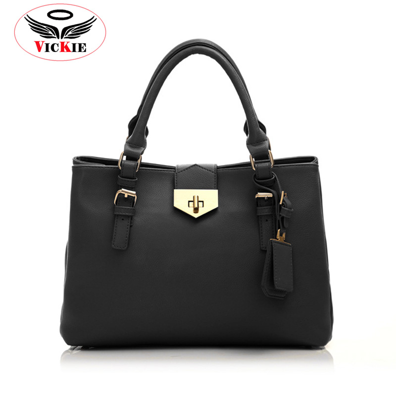 2015 Bargain Price Women Handbags Button Shoulder Bags Europe Brand Ladies Large Bags High Quality Leather Women Totes Bolsa T53<br><br>Aliexpress