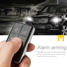 100% Original Steelmate 838N 1 Way Car Alarm System Match Central Locking System Window Closer Remote Release Anti-hijacking(China (Mainland))
