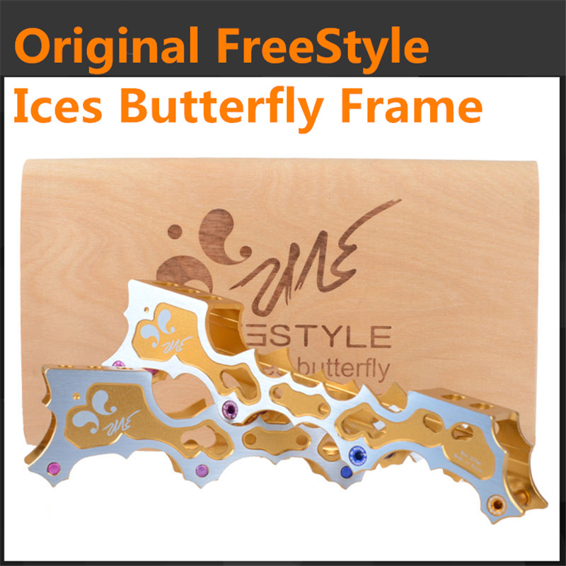 [FreeStyle Original] 100% Original FreeStyle Ice Butterfly Inline Skate Frame Base for FSK Slalom Skating Patins<br><br>Aliexpress