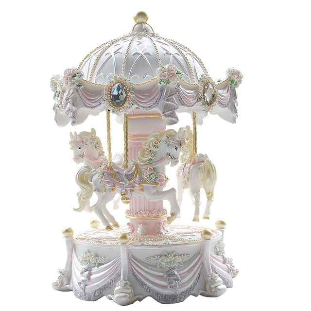 Music box music box birthday gift luminous valentine day gift female