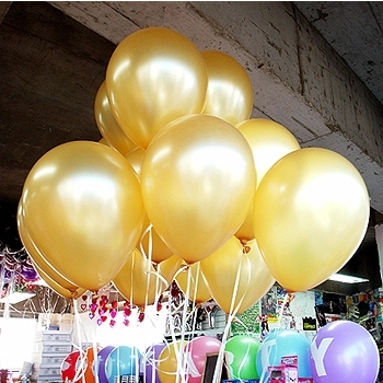 10 Inch Helium Latex Balloon Party Wedding Birthday Christmas Event Ballons Decoration Globos Kids Toy Inflatable Ball 1.5g(China (Mainland))