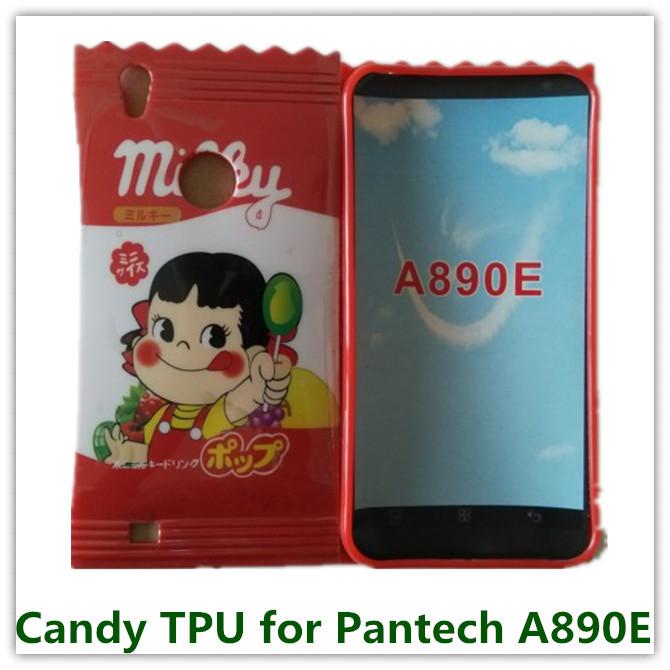 1PCS Cute Red Japan Cattern Poko Peke Candy Soft TPU Pouch ...