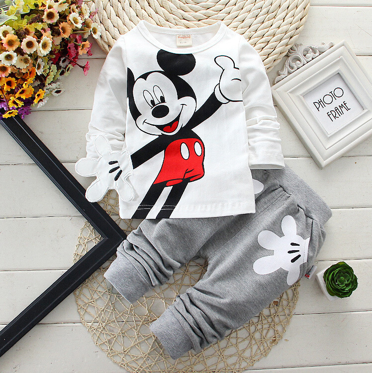 Infants and young children suit free agency a generation of fat baby cotton long-sleeved sweater two sets of M028<br><br>Aliexpress