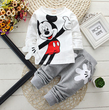 Infants and young children suit free agency a generation of fat baby cotton long-sleeved sweater two sets of M028