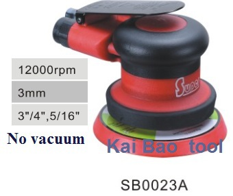 4 inch 100mm backing pad Pneumatic orbital random sander/polisher Double Action Sander Buffer(China (Mainland))