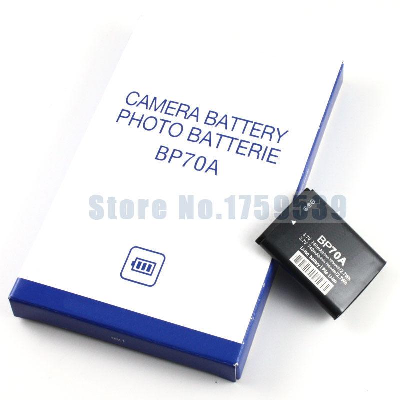 BP70A 70A BP 70A Camera Battery for SAMSUNG ST66 ST700 ST88 ES65 MV800 PL120 PL170 ES80