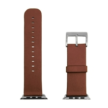 Brown Band 42mm Nappa Genuine Leather Cowhide Watchband Replacement for Apple Watch