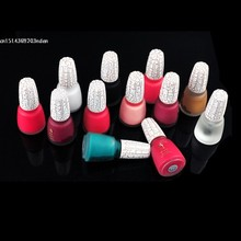 12 Colors Sexy Crack Nail Polish 18ml/piece Art Crackle Shatter New Fashion Free Shipping(China (Mainland))