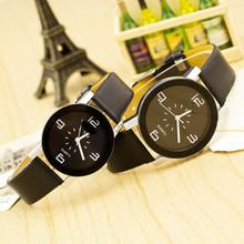 Nueva moda de ginebra alta calidad relojes de marca Classic negro / blanco pareja reloj de pulsera de cuarzo como parejas regalo SB032P