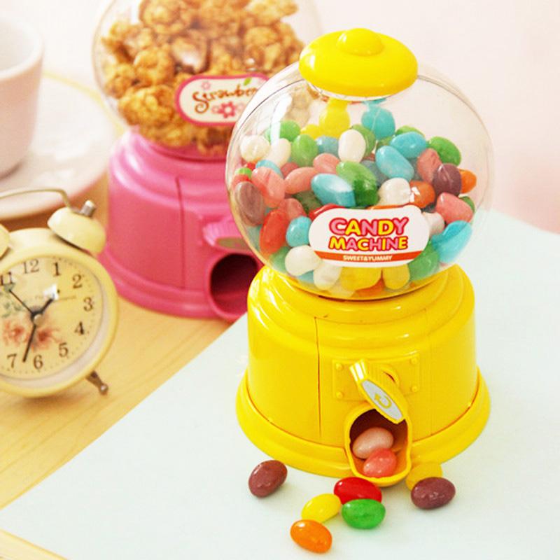 Novelty Korean piggy bank cute candy machine ATM Money Saving Coin bank Moneybox tirelire for Kids Decorative birthday Gift(China (Mainland))