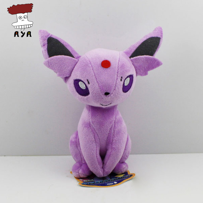 Free shipping 10pcs/lot Pokemon Plush Toys 7 19cm Sitting Espeon Soft Stuffed Animals Toy Figure Collectible Doll Wholesale<br><br>Aliexpress