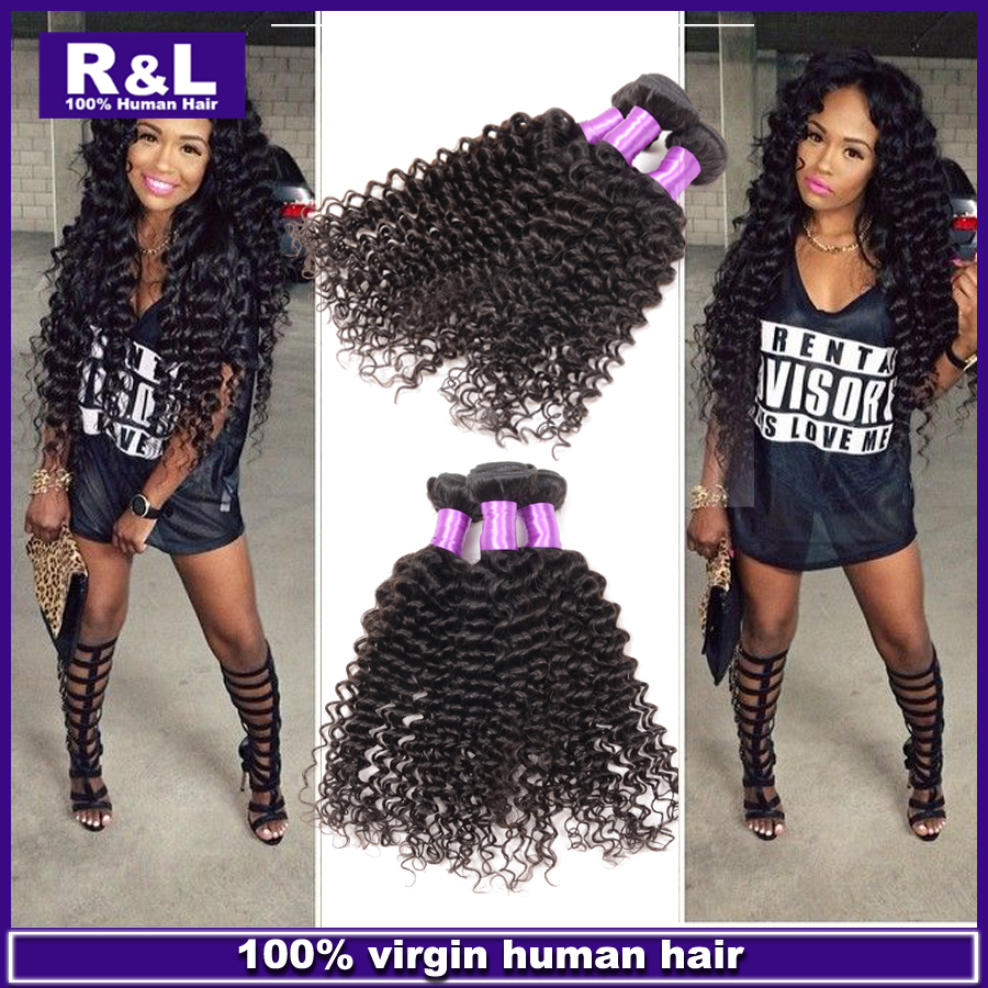 7A Grade Remy queen Hair Extensions 3pcs/lot 100g/piece Peruvian Virgin Human Hair Deep Wave Natural Color can be dyed<br><br>Aliexpress
