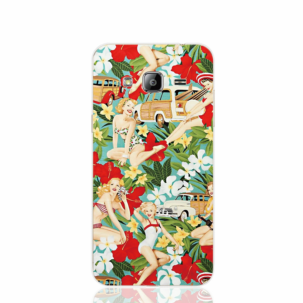 17020 Aloha Girls fabric cell phone case cover for Samsung Galaxy J1 ACE J5 2016 J7 N9150(China (Mainland))